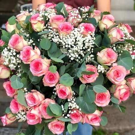 The Pink Heart Bouquet