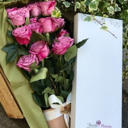 Lavender Deluxe Rose Box